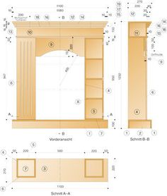 Kaminattrappe bauen: Schritt 21 von 23