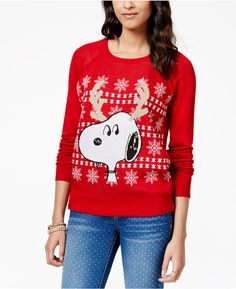 Festive Snoopy Christmas sweater is a fun way to show your love for PEANUTS & Christmas!