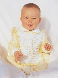 Star Baby Bib | Yarn | Free Knitting Patterns | Crochet Patterns | Yarnspirations