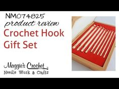 Crochet Hook Gift Set - Product Review NM074825