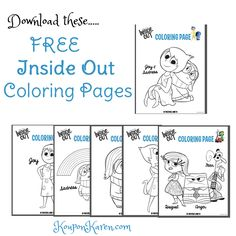 FREE Inside Out Coloring Sheets | http://www.kouponkaren.com/free-inside-out-coloring-sheets/