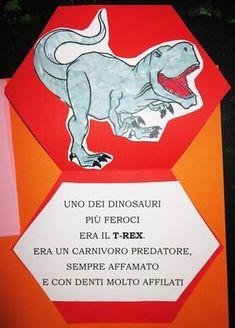Il secondo lapbook che abbiamo realizzato per l'esame di Camilla è stato quello di storia.   L'argomento scelto dalla bambina?I dinosaur...