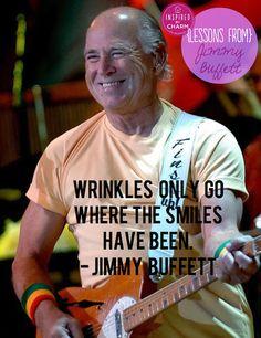 Embrace your happy lines :-) #jimmybuffett #inspiredbycharm
