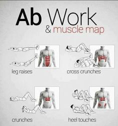 Ab workout : #fitness #exercise #health #cardio #belly #woman_fitness #ab_workouts