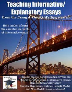 Teaching Informative / Explanatory Essays