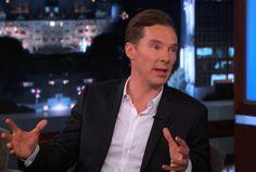 Benedict Cumberbatch on Jimmy Kimmel Live PART 2