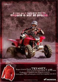 Gráfica Prensa / Honda Motos / TRX400 EX juannavarro.jnt@gmail.com
