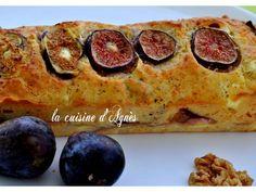 Cake feta figues noix, Recette par Agnes.f - Ptitchef