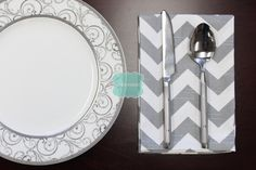 NAPKINS - Set of 4 - Premier Prints - ZIG ZAG - Ash Grey - Table Linen Home Decor Cotton Cloth Fabric Dining Dinner Napkins by LinenVision on Etsy https://www.etsy.com/listing/209758070/napkins-set-of-4-premier-prints-zig-zag