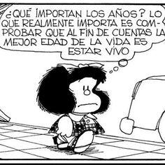 Decimos buenas noches con esta reflexión de la gran Mafalda.  Duerman rico y sueñen bonito. #tresde30y2coleaos #mafalda #lamejoredad #chicosde30 #chicosde20 #vida #radio #locucion #buenasnoches #life #turning30 #night by tres30y2coleaos