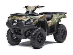 New 2016 Kawasaki Brute Force 750 4x4i EPS Camo ATVs For Sale in California. A true outdoorsman needs a big-bore machine willing to track deeper and go further and the Brute Force® 750 4x4i EPS Camo ATV can tackle the wilderness and its most tumultuous terrain. 749 cc liquid-cooled, 90-degree V-twin, DFI® four-stroke with electric start Electric Power Steering (EPS) Continuously Variable Transmission (CVT) with Hi / Lo range and reverse Selectable 4WD with variable front differential…