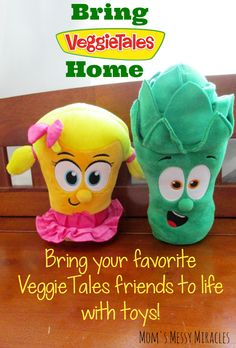 Bring your favorite @VeggieTales friends to life with toys! #VeggieTalesFun #WeaveMade #ad