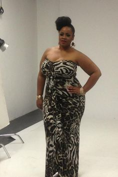 Plus size dress Hot Outfits, Pretty Outfits, Girl Outfits, Plus Size Maxi Dresses, Plus Size Outfits, Dresses Dresses, Curvy Girl Fashion, Diva Fashion, Plus Size Chic