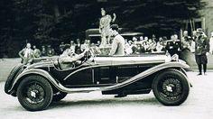 Alfa Romeo 6C 1750 Gran Sport Brianza. Concorso d'eleganza Villa d'Este 1932.
