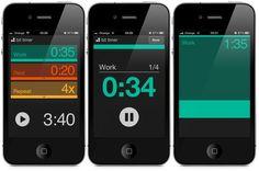 Bit Timer - interval workout timer app for iPhone | - http://www.bittimerapp.com  t#interfacedesign