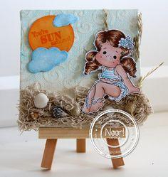 6002/0199 Noor! Design Stans Wolkjes door Jolanda Nuijens