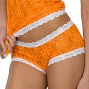 Order a Hanky Panky Tennessee Volunteers Ladies Tennessee Orange-White Boyshort Underwear from the Official University of Tennessee Store and get flat rate shipping on every order. Boy Shorts, Lace Shorts, Gym Shorts Womens, Tennessee Volunteers, Clothes For Women, My Style, Lady, Orange