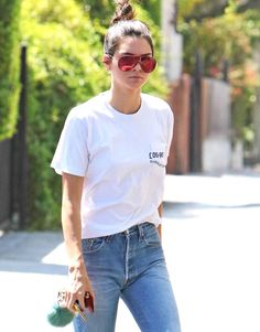 Kendall Jenner At Fred Segal in West Hollywood
