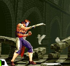 vgjunk:  SVC Chaos: SNK vs. Capcom, arcade.