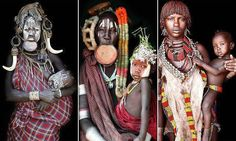 Του πήρε 7 χρόνια για να φωτογραφίσει τις πιο σπάνιες αφρικανικές φυλές. Το αποτέλεσμα; Εκπληκτικό! - spotthedot.gr