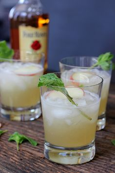 Peach Mint Julep Cocktail Recipe