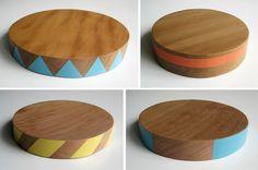 Circle chopping boards | Wooden Diamond