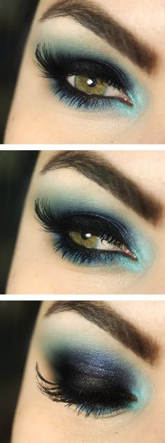 Blue Makeup Inspired By Katy Perry Tutorials / Best LoLus Makeup Fashion