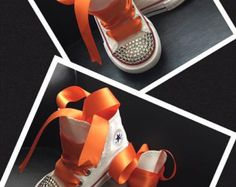 Flower Power Converse by AhmarisTreasures on Etsy