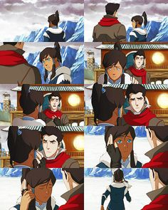 When Tarlok took you, I was losing my mind at the thought of never seeing you again. I realized... I love you Korra! (This is where every fangirl in the nation, me included, shrieked like a little girl)