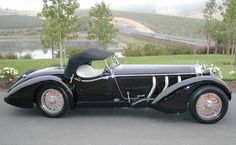 1930 MERCEDES-BENZ SS ROADSTER by Pinky and the Brain