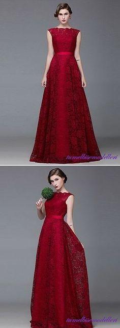 Kırmızı Elbise Modelleri : Zarafetin Rengi Küçük kızlardan genç kadınlara, ruhu genç olgun hanımlara kadar her kadının aşkıdır elbis...