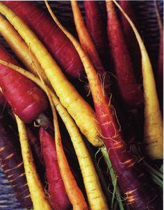 Carrots haven't always been orange