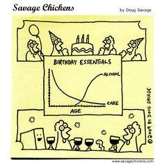 Savage Chickens - Birthday Essentials