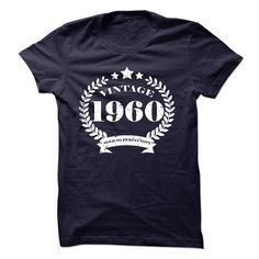 Vintage 1960 Aged to perfection Birthday tee shirt - T-Shirt, Hoodie, Sweatshirt