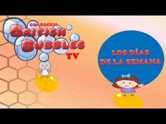 782aca343 Aprender los días de la semana con el vídeo de British Bubbles. Con el  recurso educativo para niños sobre los días de la semana