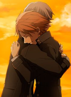 When the choice to hug Yosuke came up in his social link... I just couldn't pass…