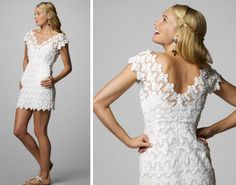 Lilly Pulitzer Dress for wedding? hmmm maybe i do love the lace details