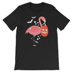 Pink Flamingo Halloween Costume Unisex T-Shirt #clothing #shirt @EtsyMktgTool http://etsy.me/2ieUI3x