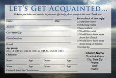 Church Visitor Card Template Word - Church Visitor Card Template Word , Church Connection Card Invitation Templates On Creative Church Welcome Center, Church Outreach, Church Bulletins, Church Backgrounds, Online Church, Welcome Packet, Welcome Card, Retirement Cards, Church Design