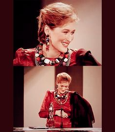 People´s Choice Awards (1986): Meryl is such a cute pregnant lady :)