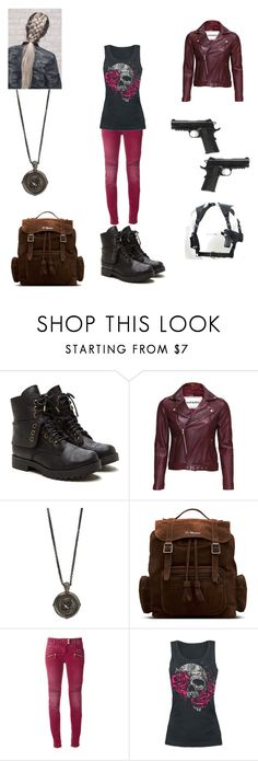 """""""supernatural 4"""" by cindy-morton on Polyvore featuring VIPARO, Stephen Webster, Caliber, Dr. Martens and Balmain"""