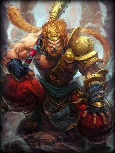 Sun Wukongé odeusmacaco da lenda Jornada para o Oeste era o rei macaco