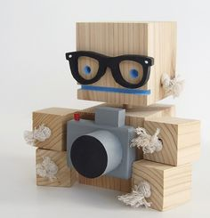 Block Bot | Woodworking- Toys and Games | Pinterest | Toy and ...