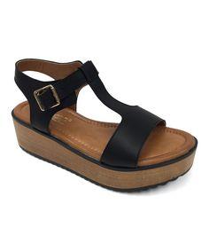 Black Asuzaly Sandal