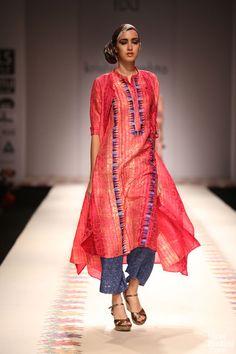 Krishna Mehta for Wills India Fashion Week