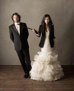 Fashionable bride, humorous photo... all round winner.
