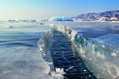 Lake Baikal, Russia - Beautiful places. Best places in the world. Shut up and take me there!