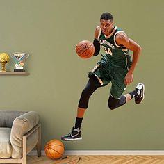 NBA Milwaukee Bucks NBA Giannis Antetokounmpo 2015-2016 Realbig, Real Big by Fathead Peel and Stick Decals. NBA Milwaukee Bucks NBA Giannis Antetokounmpo 2015-2016 Realbig, Real Big. Real Big.