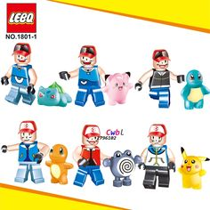 6pcs star wars superhero marvel Pikachu Pocket Monsters building blocks lepin action figure model bricks Baby toys for children-in Blocks from Toys & Hobbies on Aliexpress.com   Alibaba Group
