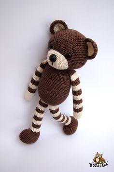 návod na háčkovaného macuľka (cca & Zboží prodejce rozarrka Crochet For Kids, Diy Crochet, Crochet Toys, Cute Little Things, Crochet Animals, Diy And Crafts, Hello Kitty, Teddy Bear, Knitting